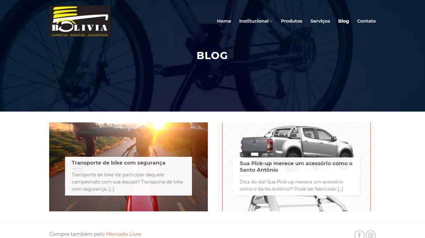 Blog Carretas bolivia