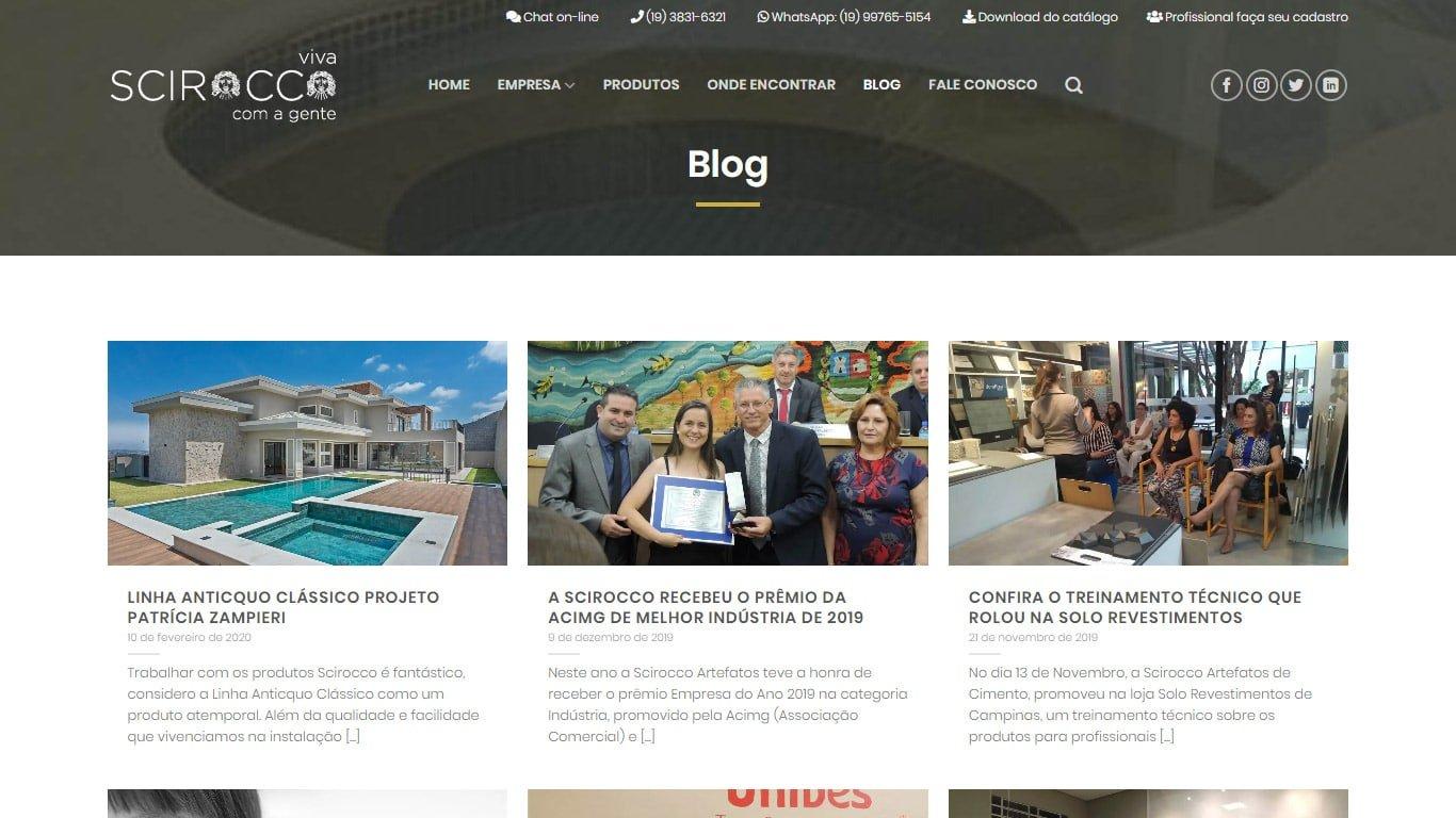 Blog Scirocco