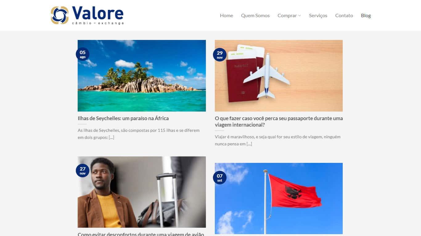 blog valore cambio desktop
