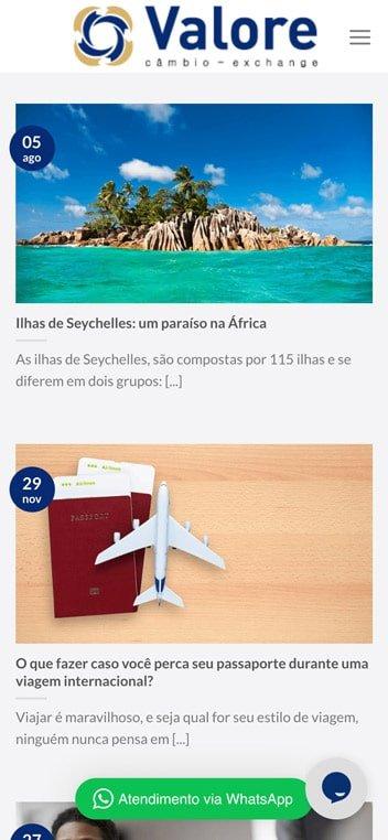 blog valore cambio mobile