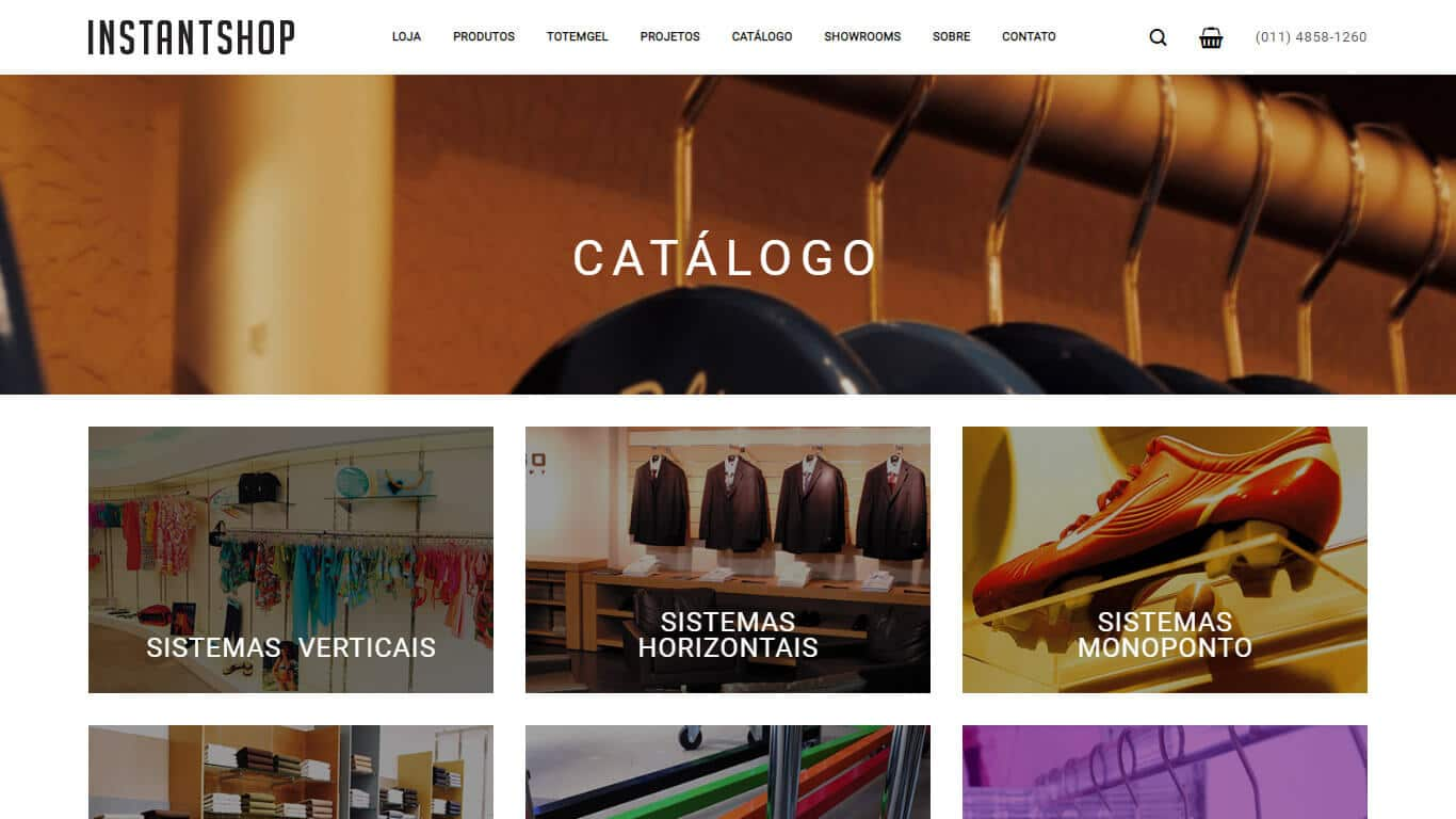 catalogo instant shop desktop
