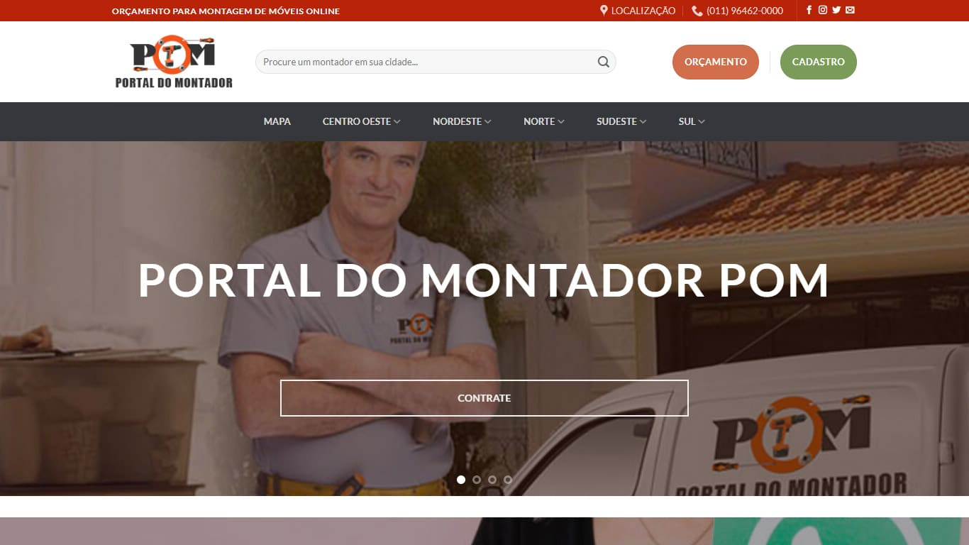desktop central do montador home