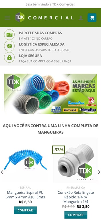 home tdk comercial mobile