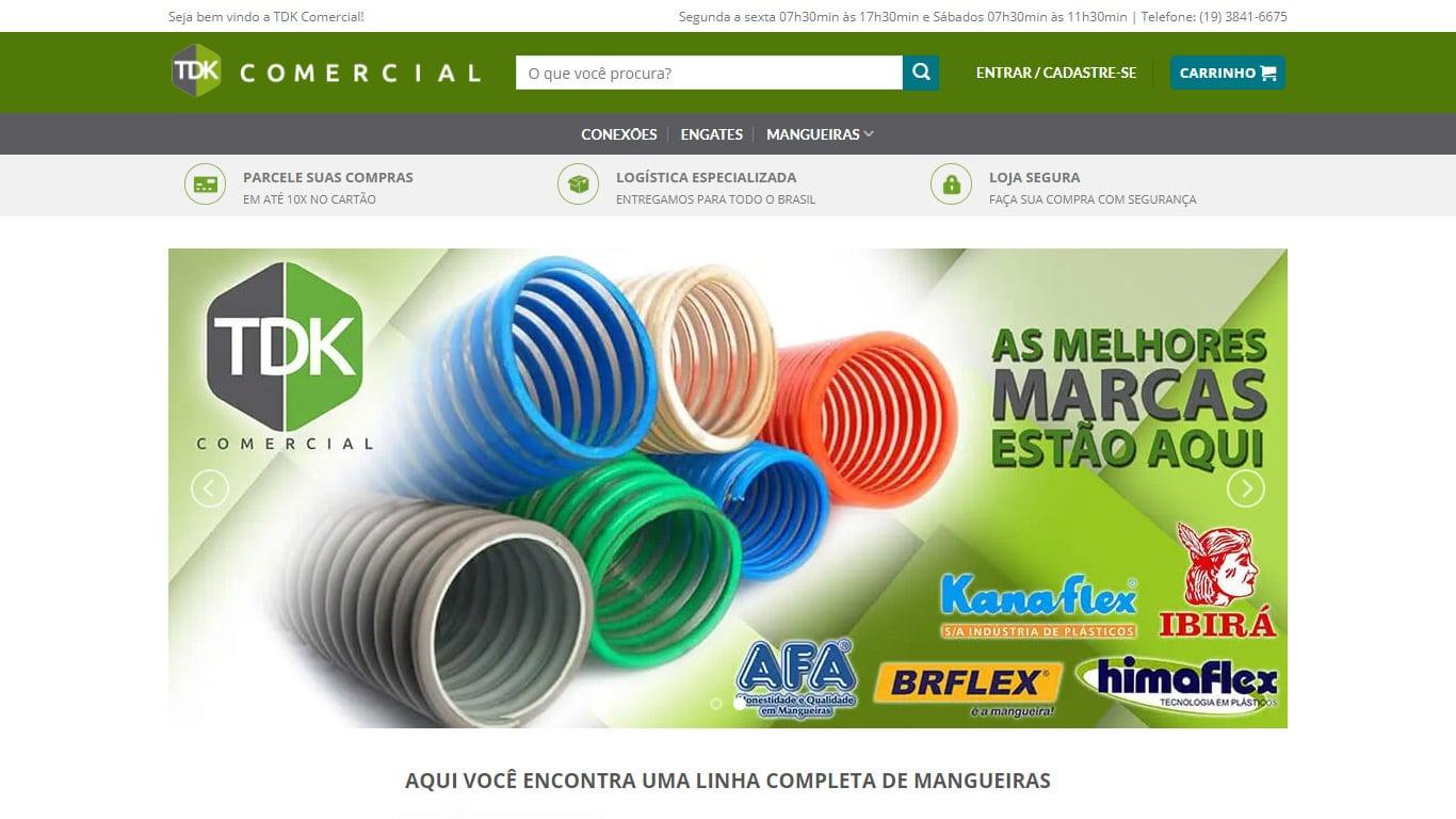 pagina inicial conexao tdk comercial desktop