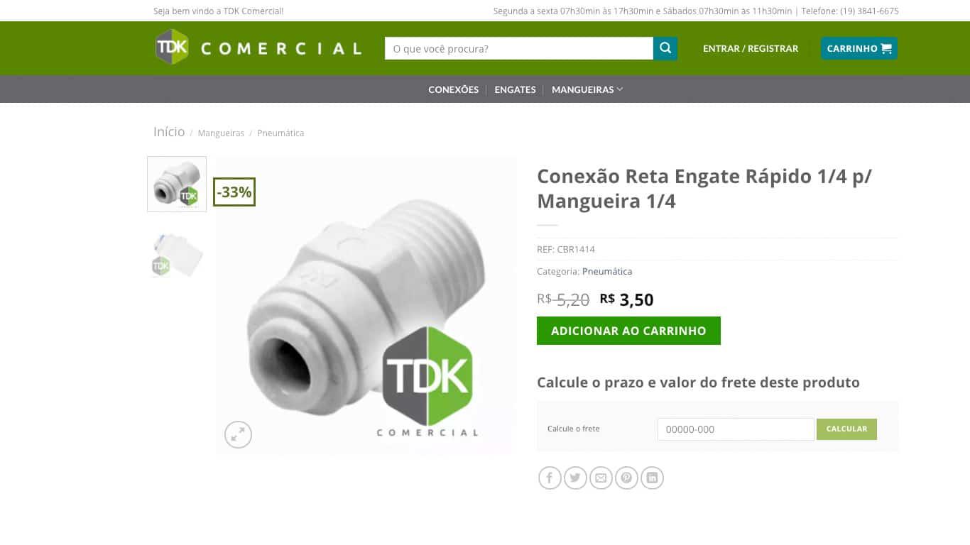 produto individual conexao tdk comercial desktop