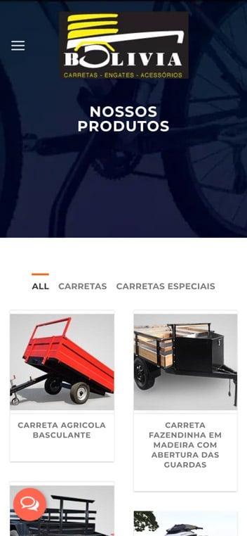 produtos mobile carretas bolivia