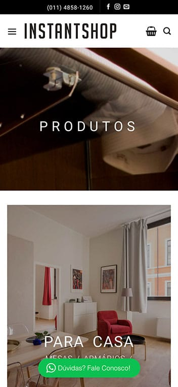 produtos mobile
