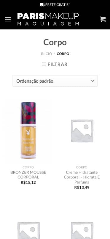 produtos paris make up mobile