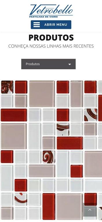 produtos vetrobello pastilhas de vidro mobile