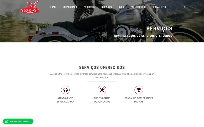 servicos desktop japas motorcycle